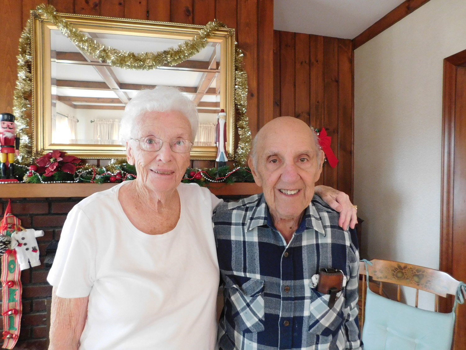Gloria and Charlie Chapman were Bellmore's People of the Year 2017 for the Herald.