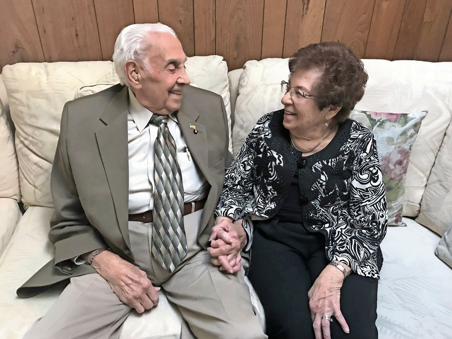 Johanna and Joseph Lucca were set to mark their 70th wedding anniversary on Jan. 4. The couple has lived in Wantagh for over three decades.