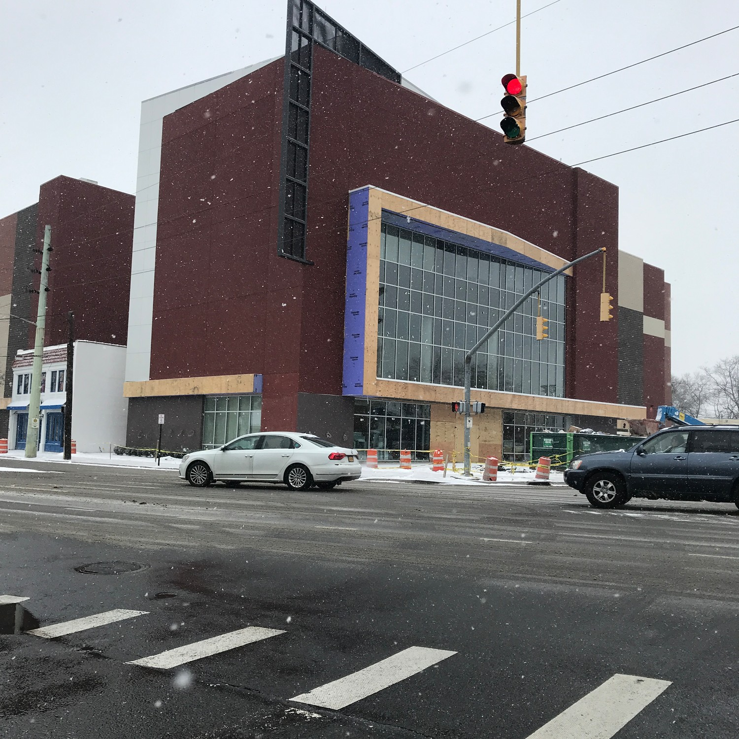 Among the major local projects scheduled for completion this year is the new Regal movie theater in Lynbrook, which should open in the next 90 days, according to Mayor Alan Beach.