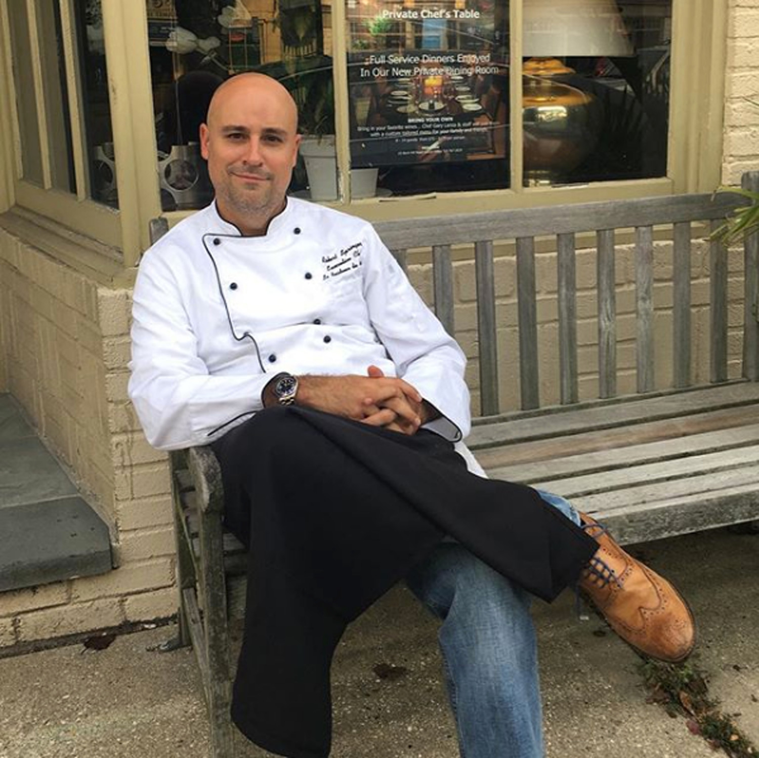 Robert Springer has prepared tasting menus for restaurants in the area, such as Chef's Table in Locust Valley.