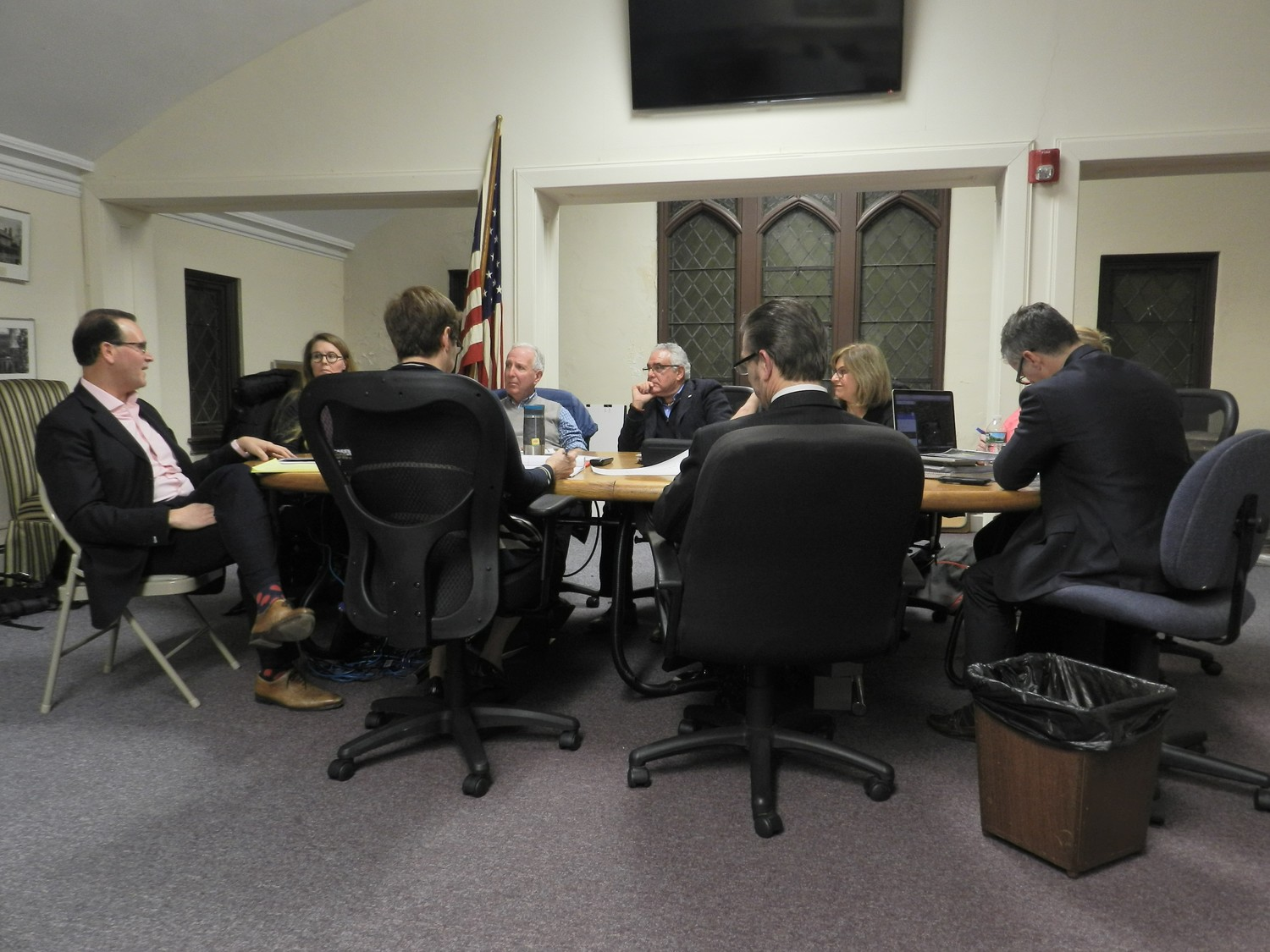 The Village Board held its first public comment meeting of the new year, and discussed a variety of issues including Littleworth Lane, the prospects of a five-year plan, and New York American Water.