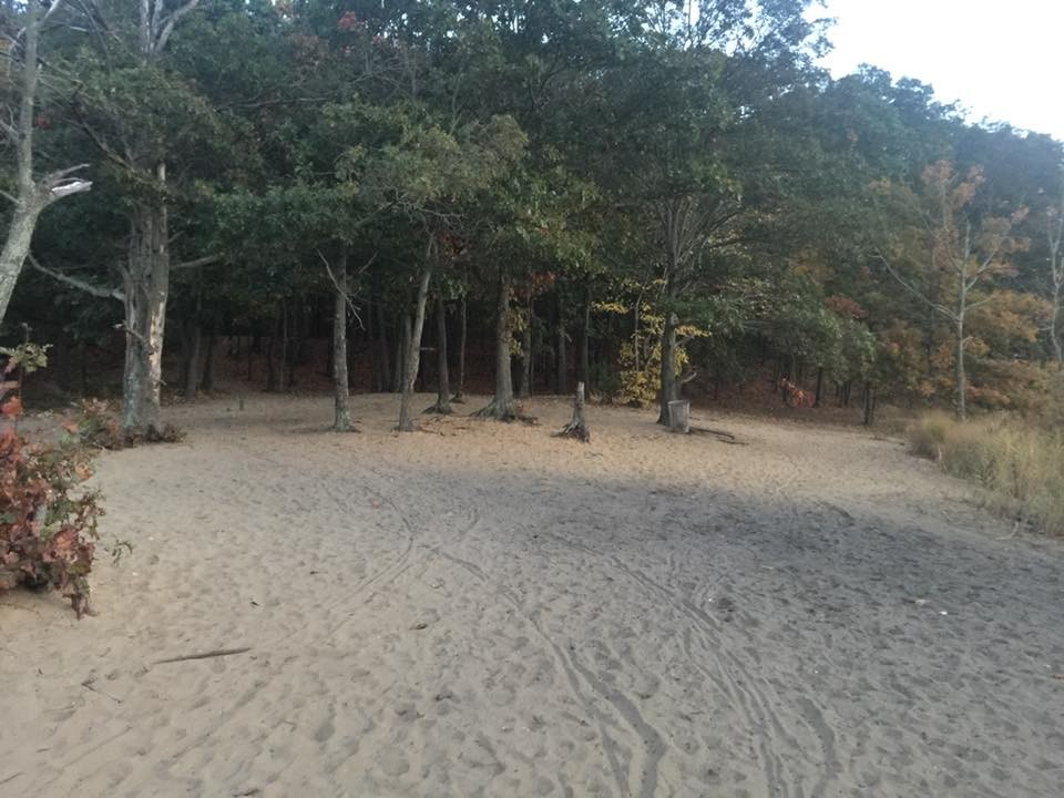 "This spot, known as ""the Beach"" — located in Hempstead Lake State Park near ""the Bridge"" — has an infamous reputation for illegal bonfire parties, at which underage drinking is said to take place."