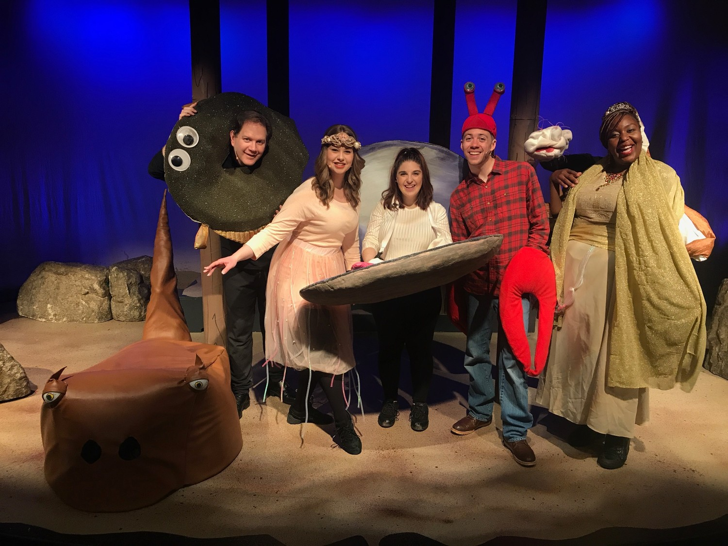 """Happy as Clams,"" a musical set in Long Island's Great South Bay returns to  Long Island Children's Museum on Jan. 14."