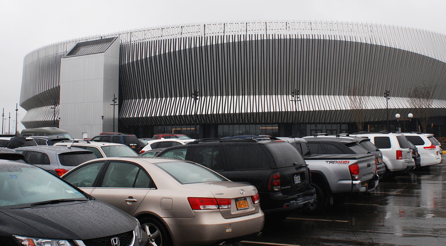 Amid Nassau Coliseum's temporary closure, Nassau County is demanding that Onexim Sports and Entertainment, the company that operates Nassau Coliseum, pay $2 million in overdue rent.