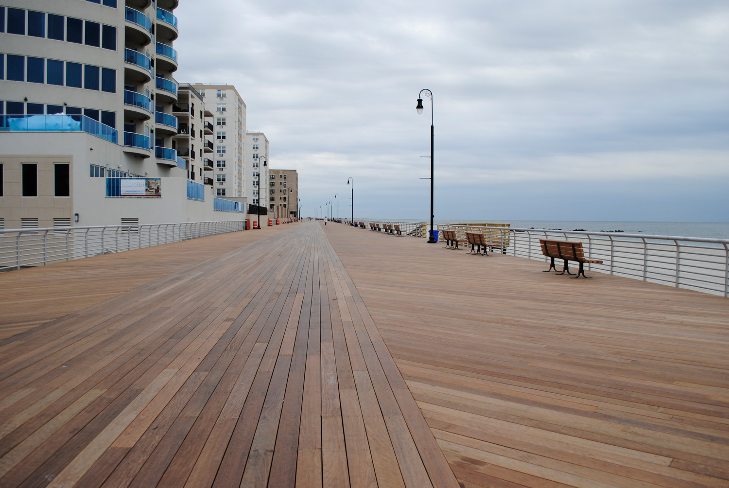 Atalantic Beach Will Copy Long S Concept Of Placing The Bike Lane In Boardwalk Center