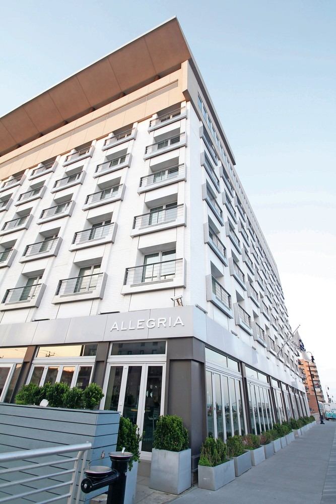 The Allegria Hotel is seeking approval from the Zoning Board of Appeals to convert existing floor space into additional hotel rooms.