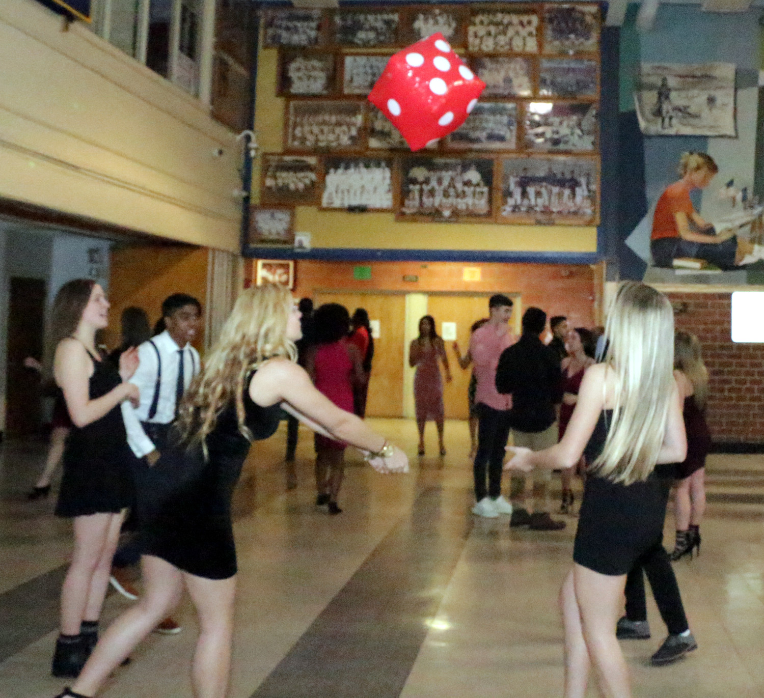 Baldwin High School's Senior Banquet was a great place for the Seniors to dance and laugh with each other.