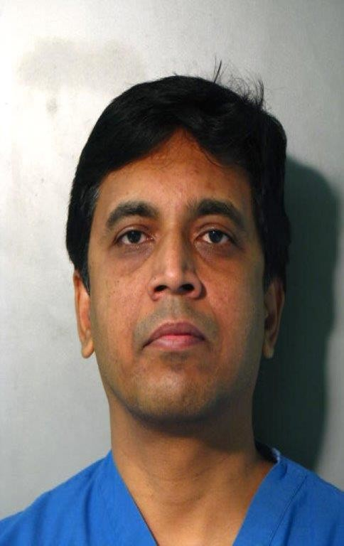 Venkatesh Sasthakonar was arrested on Jan. 22 after strangling a 51-year old female nurse, according to police.