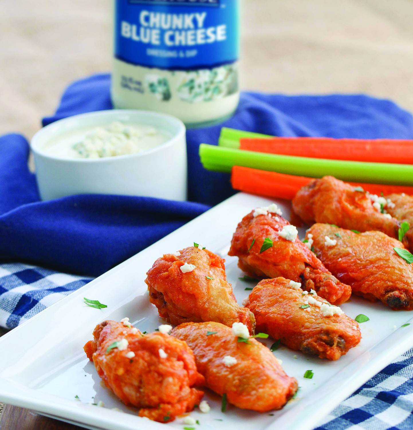 Wings are a never-miss game-time favorite. Whether you're hosting the game-day party or bringing a dish to a friend's bash, Buffalo wings are always a winner.