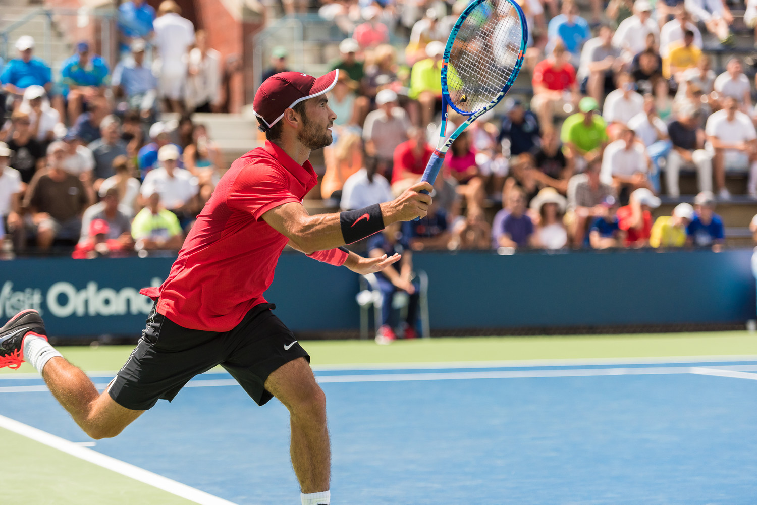 Noah Rubin, 21, of Merrick joined the professional ranks of tennis in 2015 and has since been competing at tournaments across the globe.