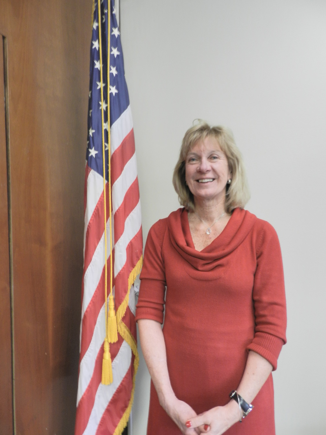 Eileen Krieb served as deputy commissioner of the parks department for eight years.