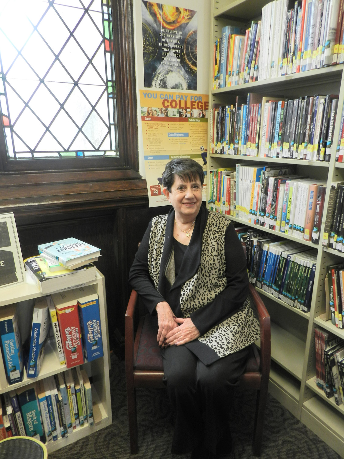 Far Rockaway native Arlene Nevens, the director of the Sea Cliff Village Library for the past 11 years, added new books and literary classics to the library's inventory in her first few months as director. She has worked to upgrade all services from programming to technology.