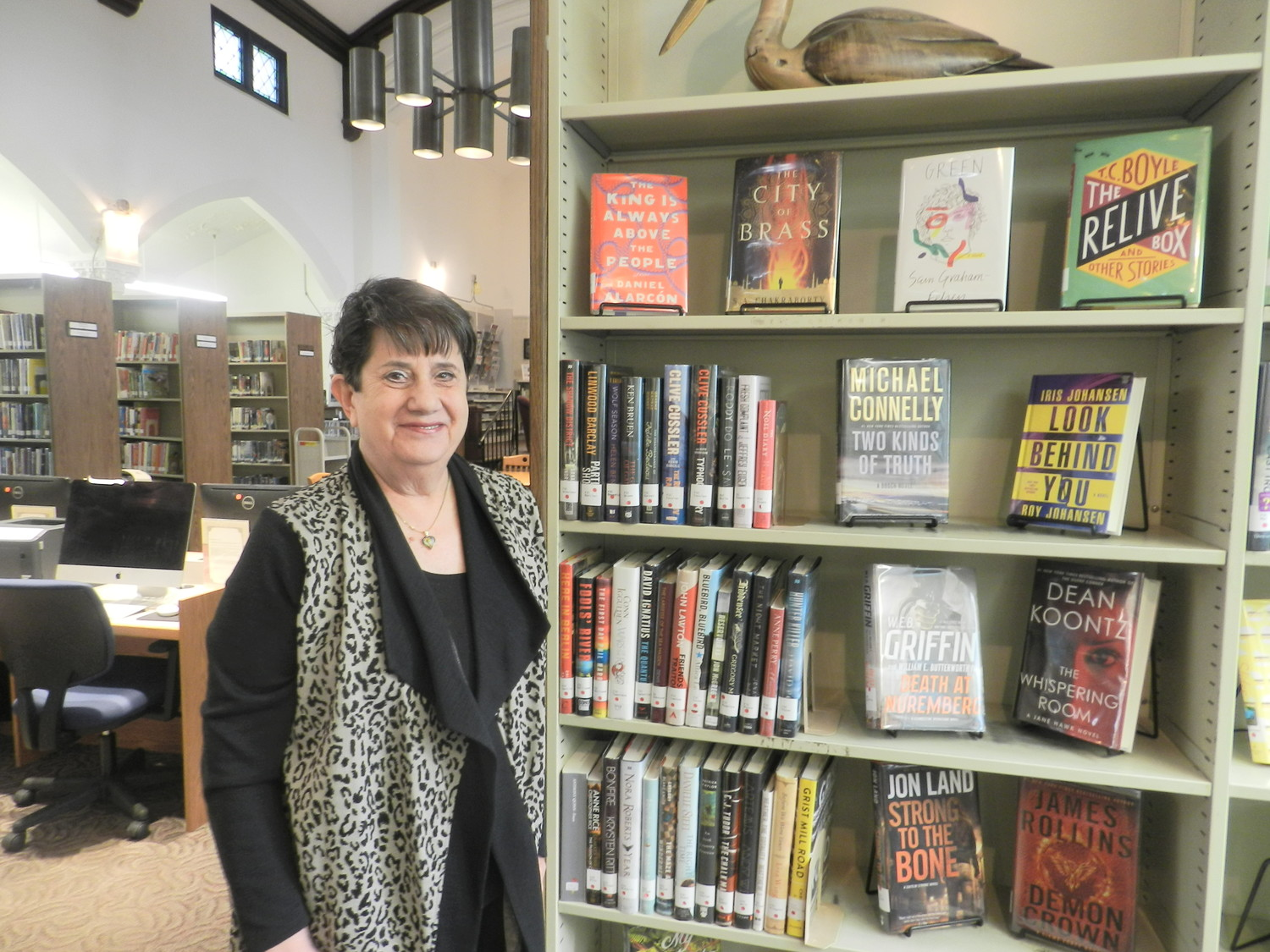 Nevens began her career at the Great Neck Library, where she worked for 30 years, but admitted that she found greater interactions with patrons in the small setting of Sea Cliff's library.