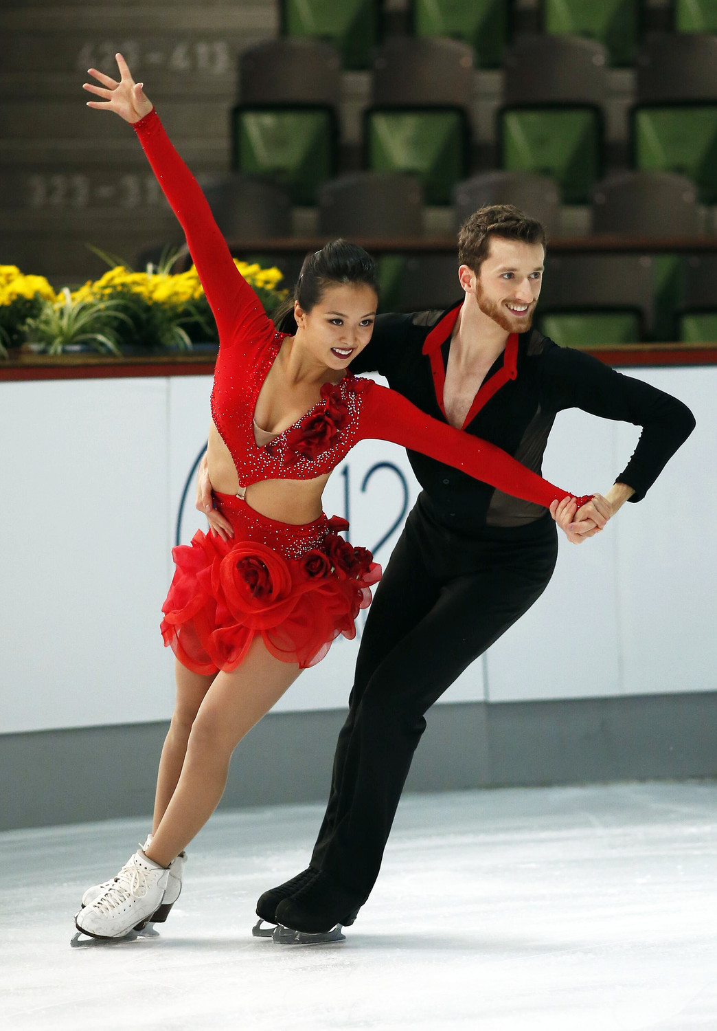 Representing South Korea, Alex Gamelin, formerly of North Merrick, and his partner, Yura Min, of South Korea, will compete in ice dancing in the Winter Olympics.