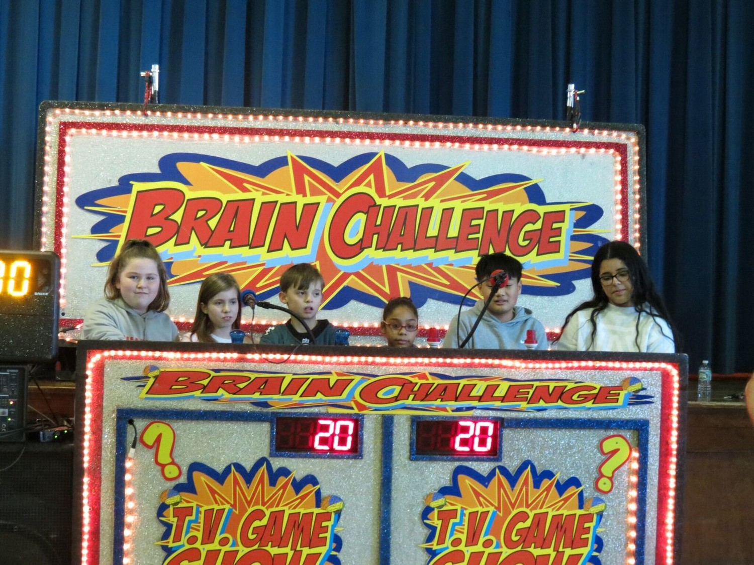 Students at Our Lady of Peace partook in a trivia game show for Catholic Schools Week.