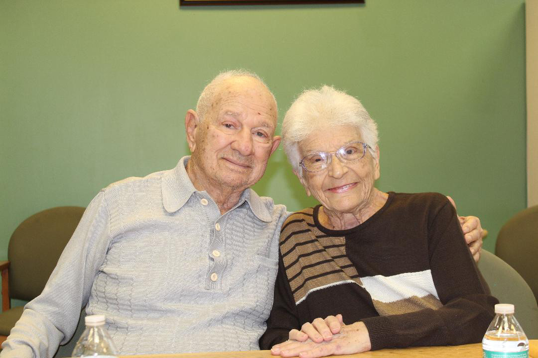 Edmond and Michaelina Porcheddu will be celebrating Valentine's Day at their new home of the Atria Lynbrook this year. They have been married for 66 years.