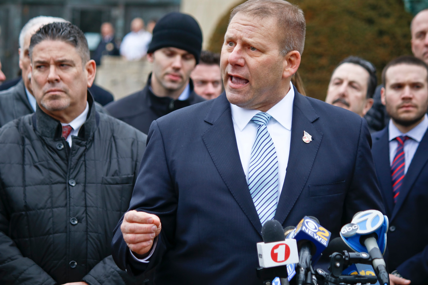 Rockville Centre Police Commissioner Charles Gennario said he was pleased with the verdict.