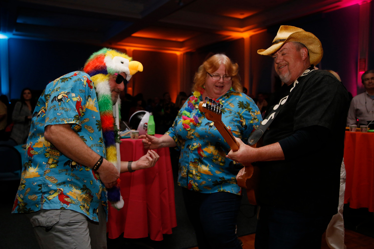 Thomas and Loretta Pfeiffer danced to tunes by Jimmy and the Parrots at St. Agnes Parish Center last Saturday.