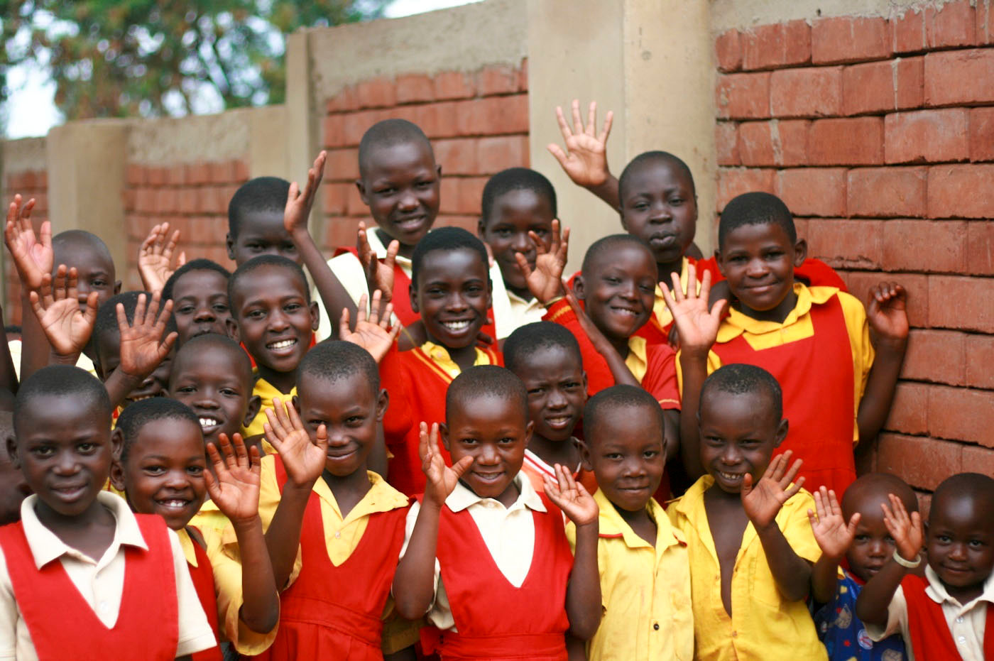 HELP International has aided in feeding and educating children in Uganda.