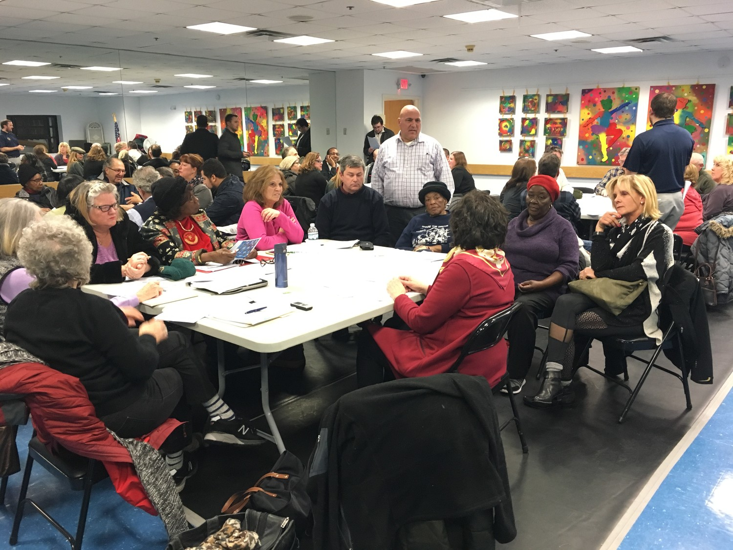 More than 40 residents gathered at the Magnolia Community Center on Jan. 25 for the latest public meeting to discuss the city's proposed comprehensive plan.