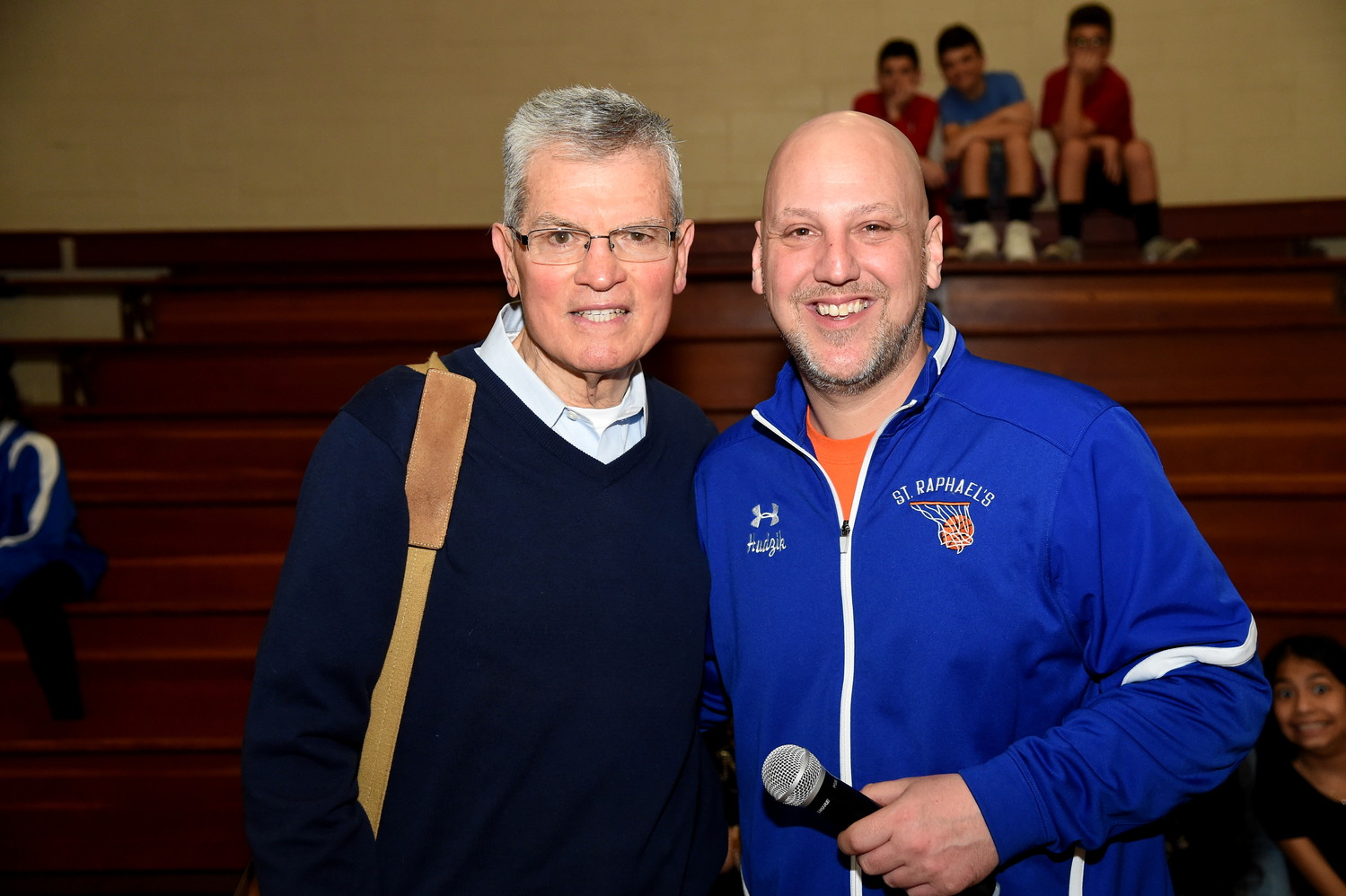 Former St. Anthony's High School basketball coach and author Gus