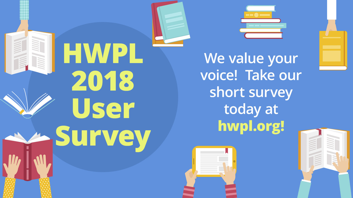 Let your voice be heard and complete the survey by March 2.