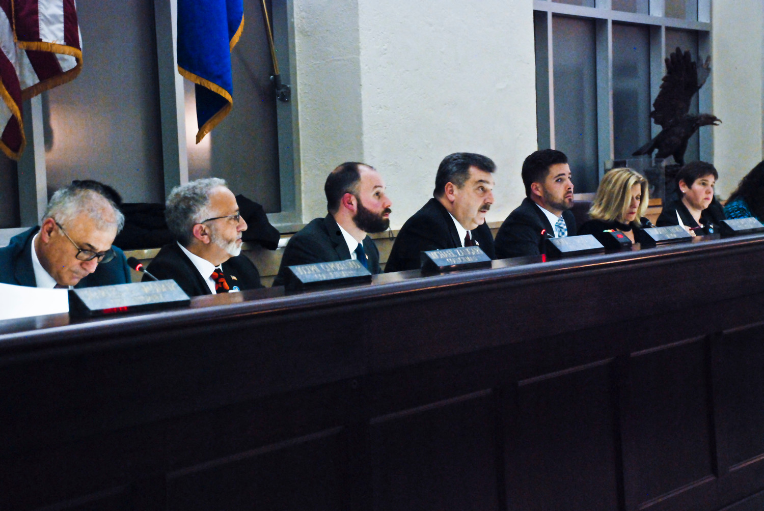The Glen Cove City Council heard the public's concerns at a hearing that lasted four hours.