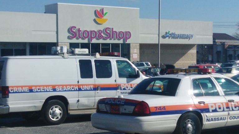The Rosyln Savings Bank located inside this Stop & Shop, at 4055 Merrick Road, was robbed at 12:28 p.m. on Feb. 8, according to Nassau County Police.