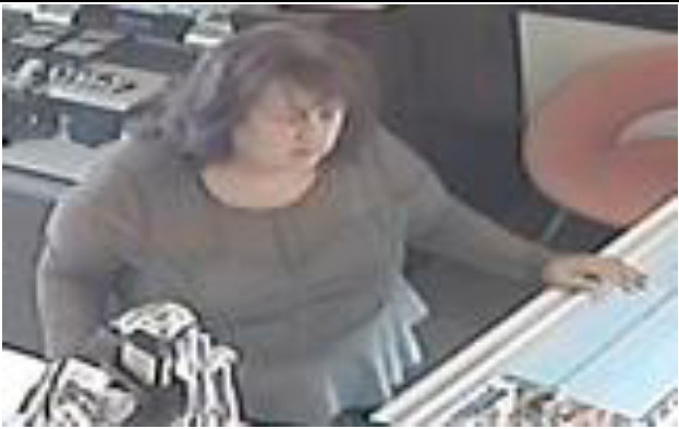 Nassau County police are looking for this woman, who allegedly bought items at a Hewlett jewelry store with a stolen credit card on Oct. 20.