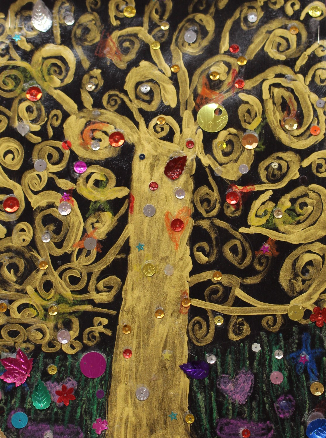 'Tree of Life,' by Wheeler Elementary School second-grader Jaime Brione.