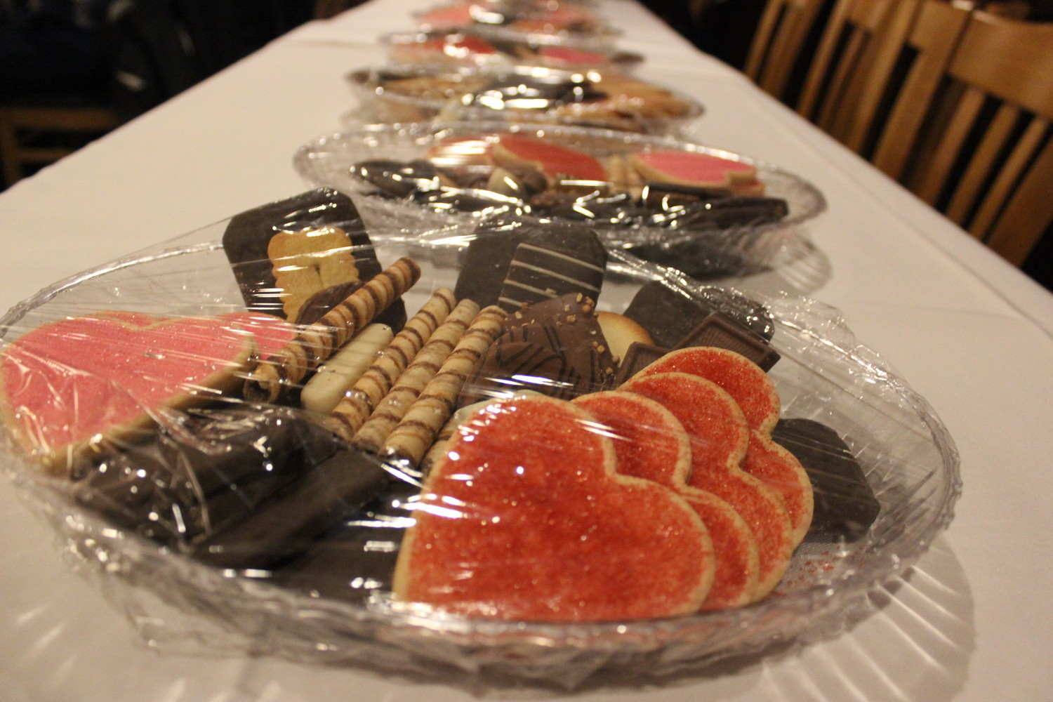 "Borelli's was decked out with Valentine's Day decorations and deserts for the many couples that attended AHRC Nassau's sixth annual ""Date Night"" on Feb. 7."