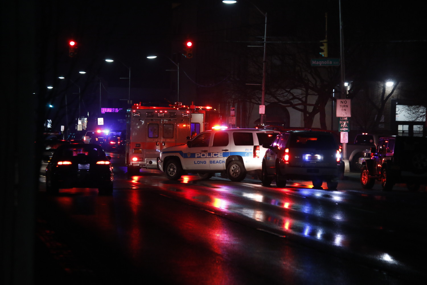 A driver struck a pedestrian at around 9:30 p.m. Thursday night.