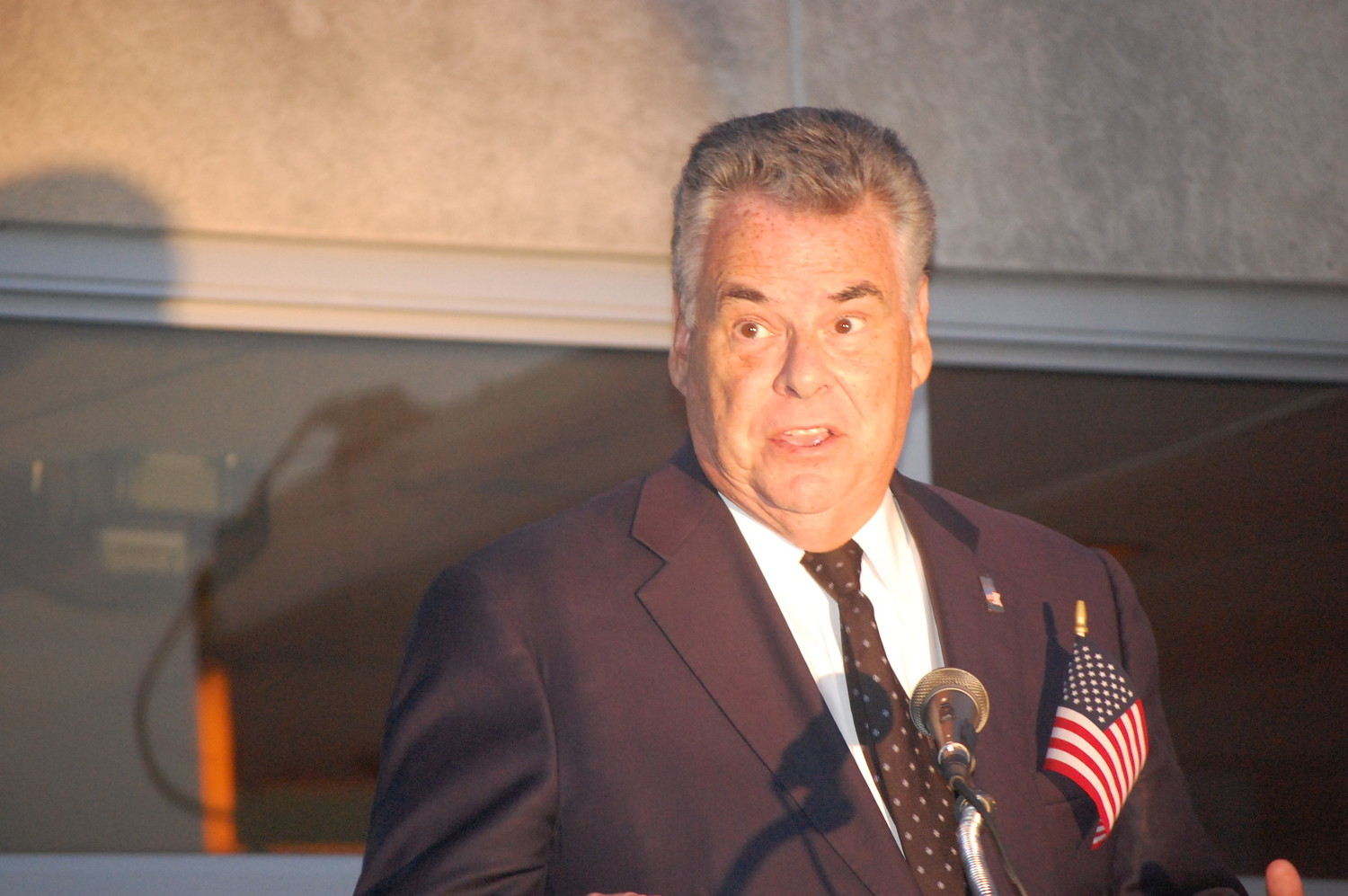 U.S. Rep Peter King took part in a meeting with President Trump and members of Congress in Washington, D.C. last week to discuss ongoing efforts to combat the deadly MS-13 gang.