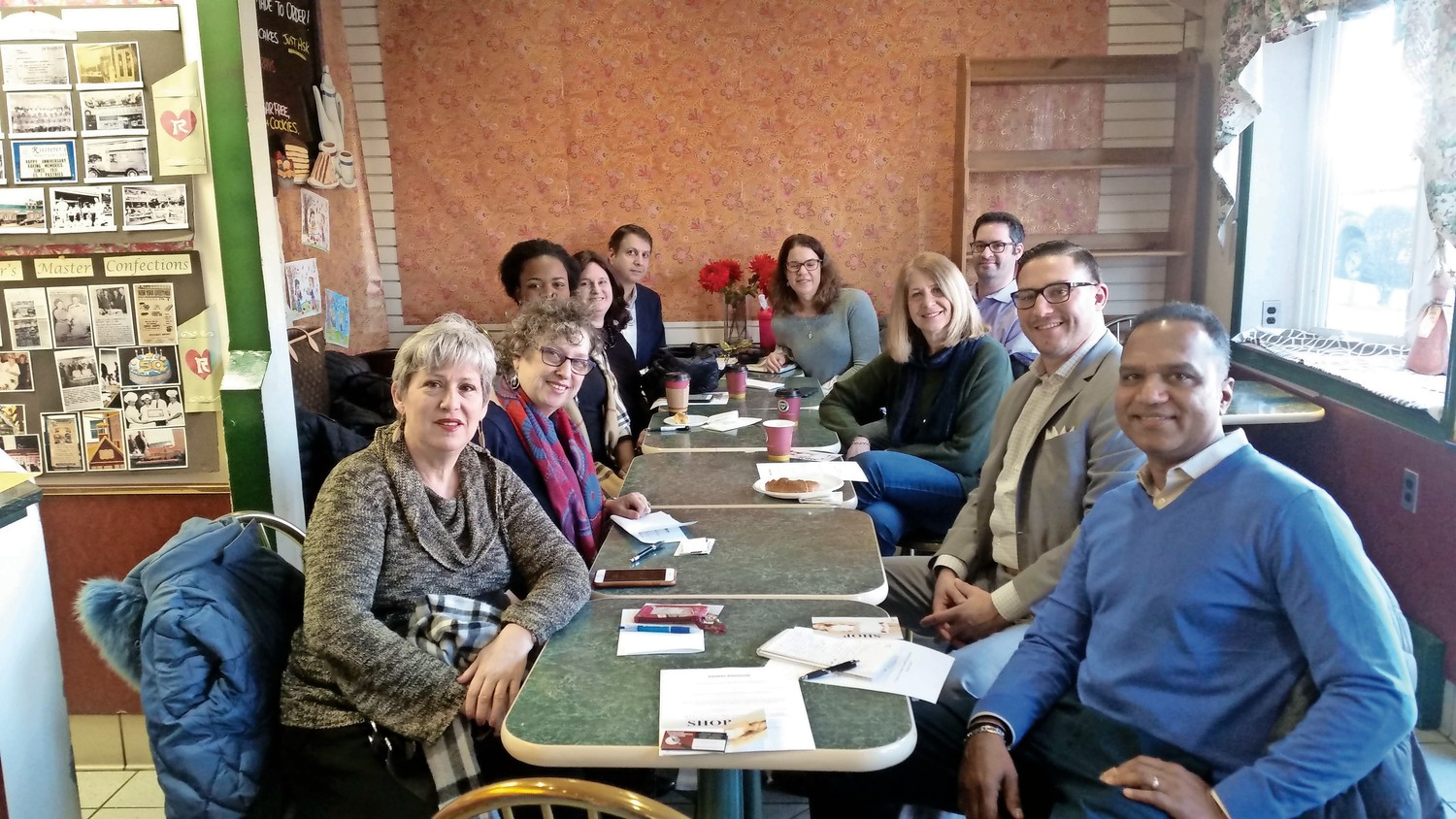 Breakfast Connect meets every Tuesday morning from 7:30 to 8:30 a.m. at Riesterer's Bakery in West Hempstead.