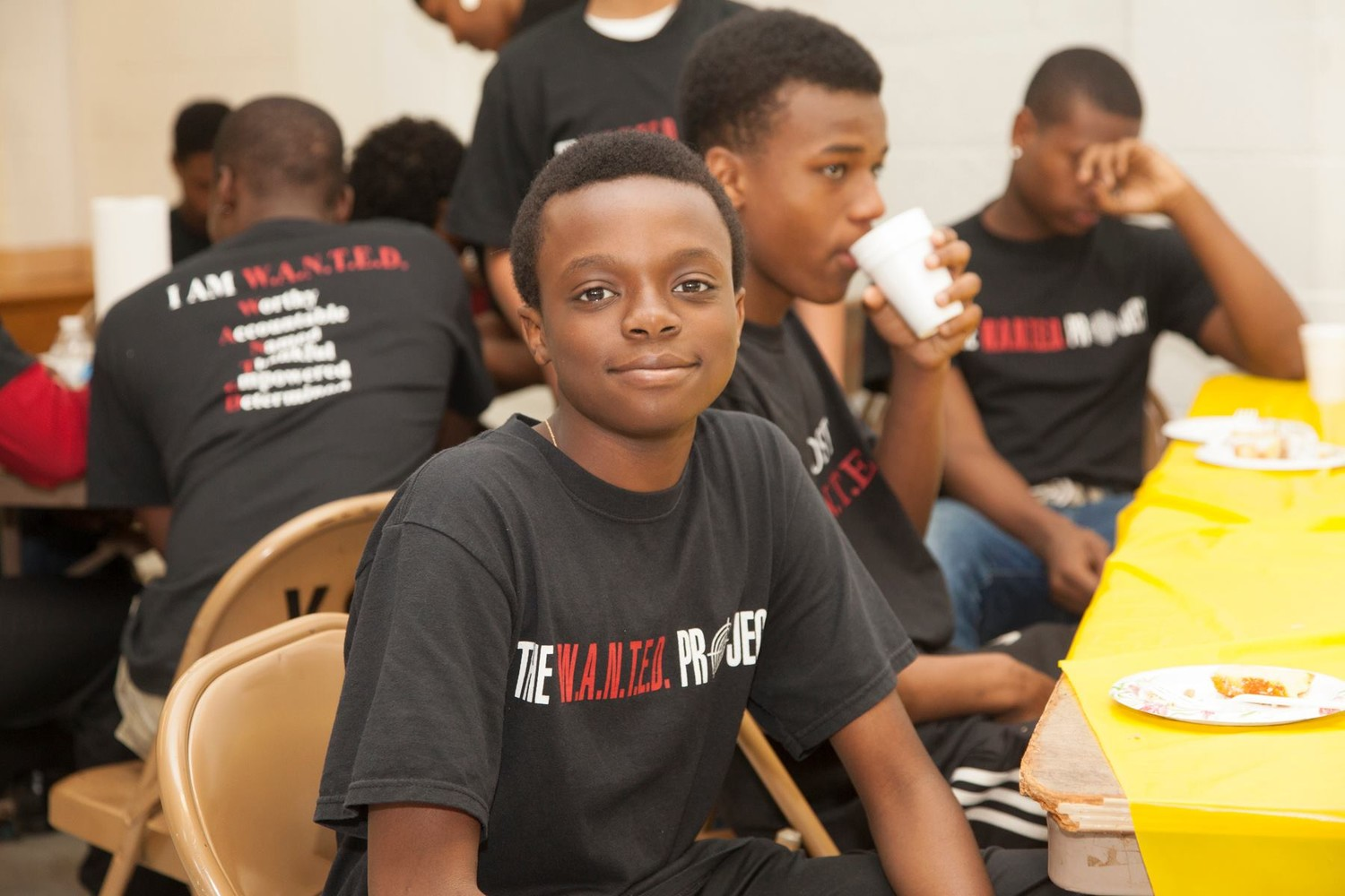 Elijah Johnson, pictured here in 2014, has participated in the W.A.N.T.E.D. Project for the past five years.