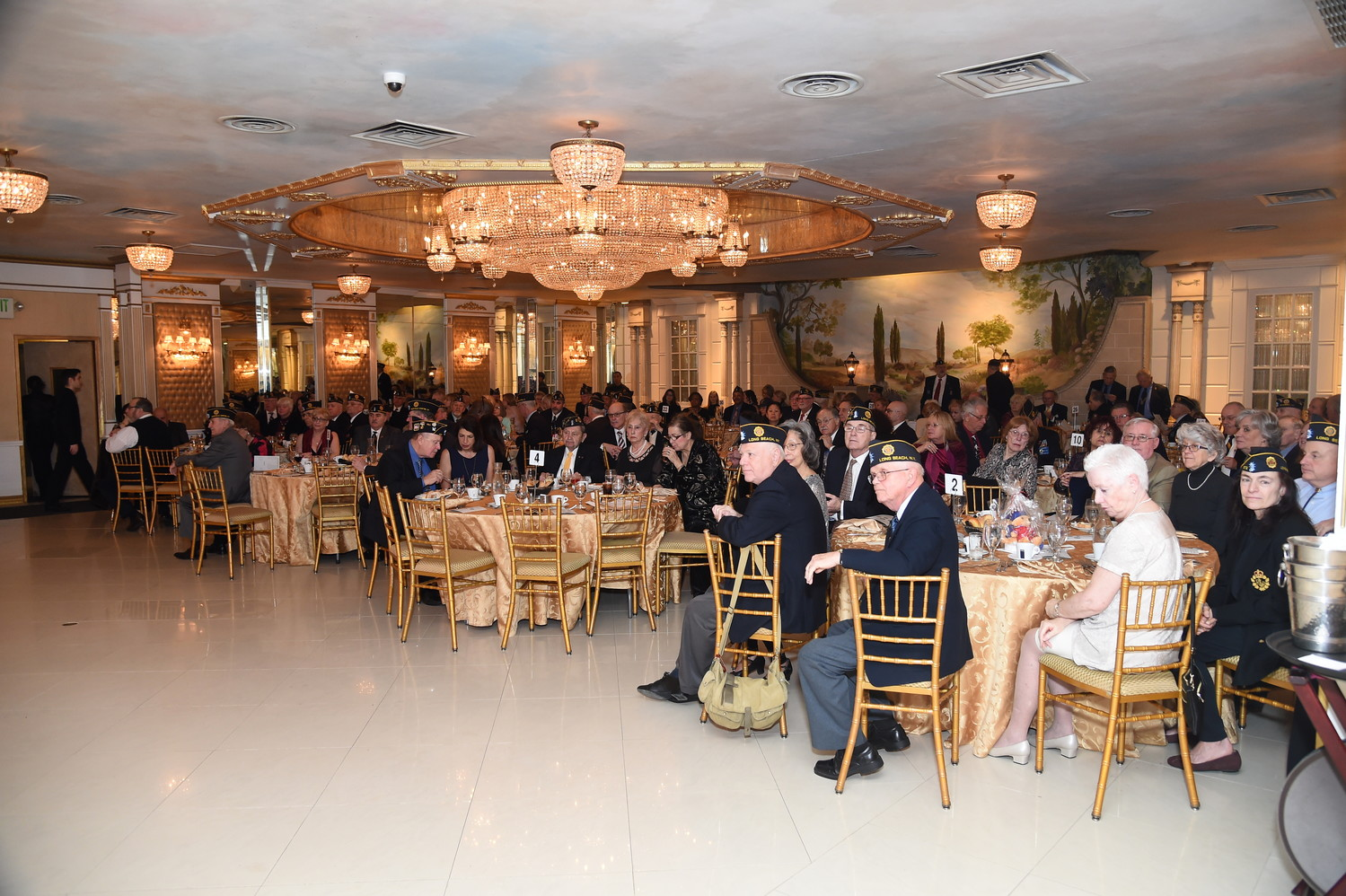 More than 100 people attended the annual event.