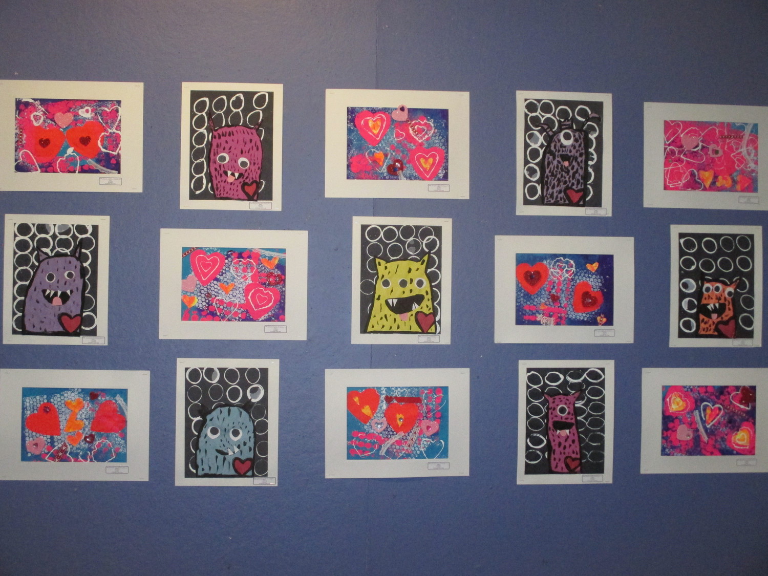 Lawrence Primary School students created artwork that is on exhibit at the Long Island Children's Museum in Garden City through the end of the month.