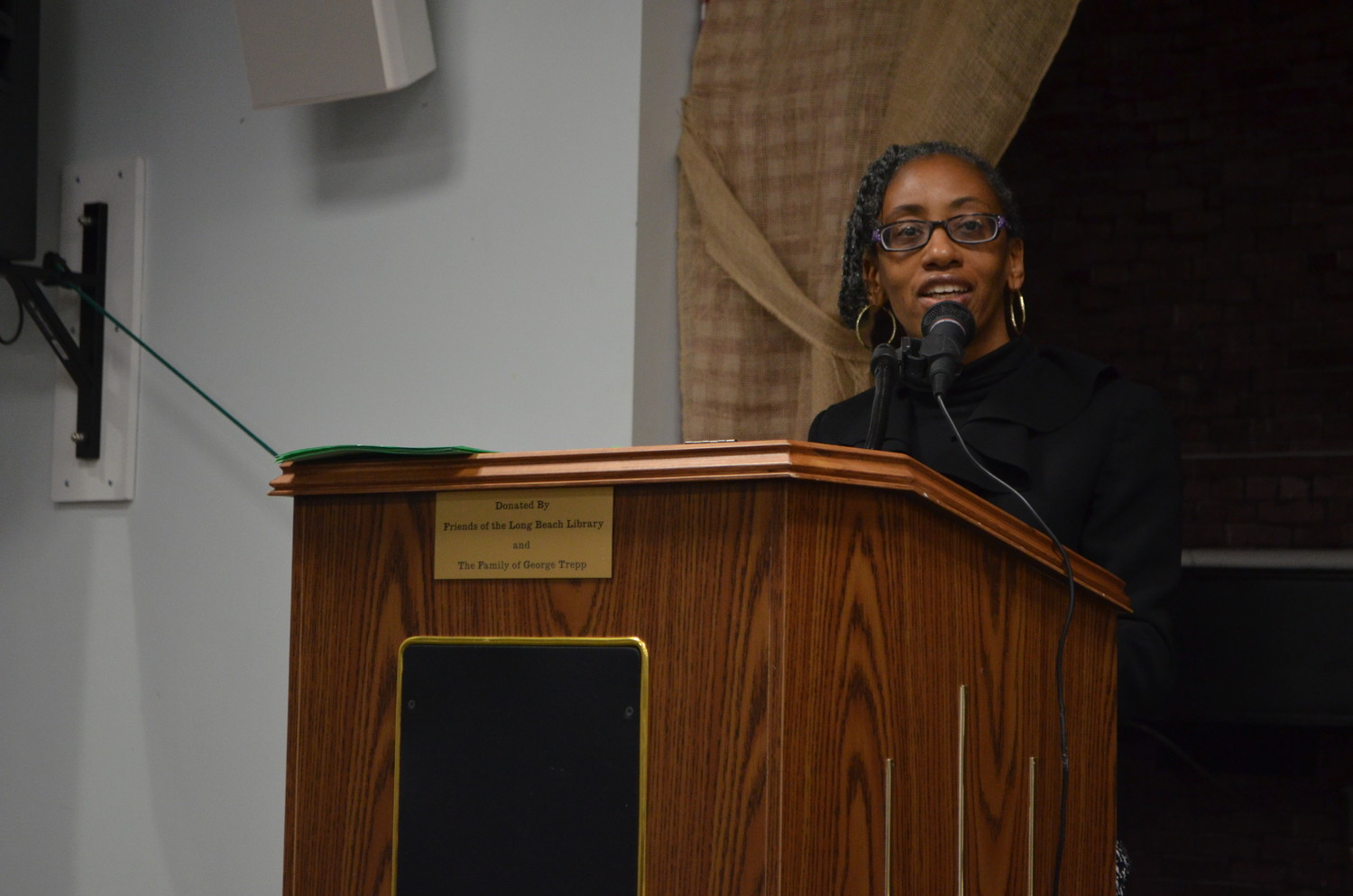 City Councilwoman Anissa Moore hosted the 2nd annual event at the library.