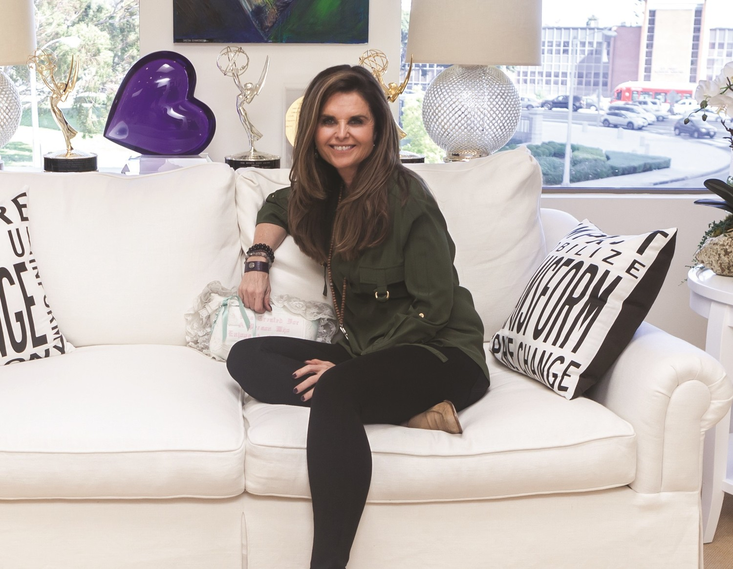 Maria Shriver will share her wisdom and guidance in an interview and book signing at the Madison Theatre next week.