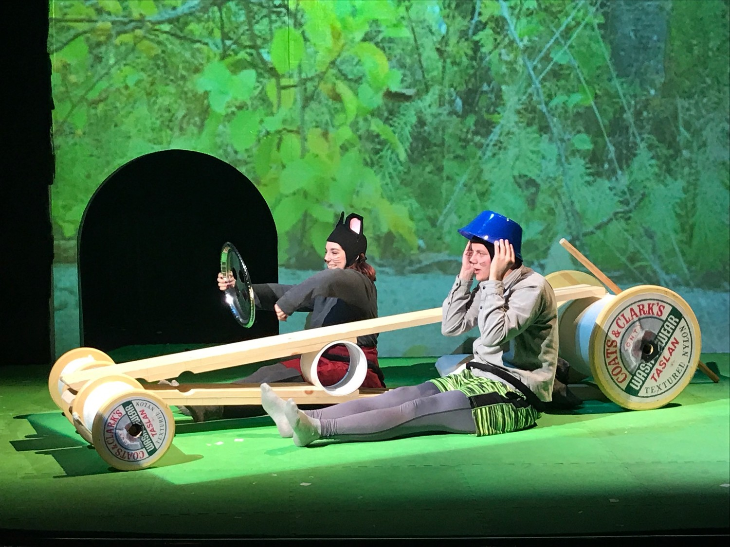 "Long Island Children's Museum introduces young children, ages 1-5, to the theater in the interactive tale ""Mouse on the Move."""