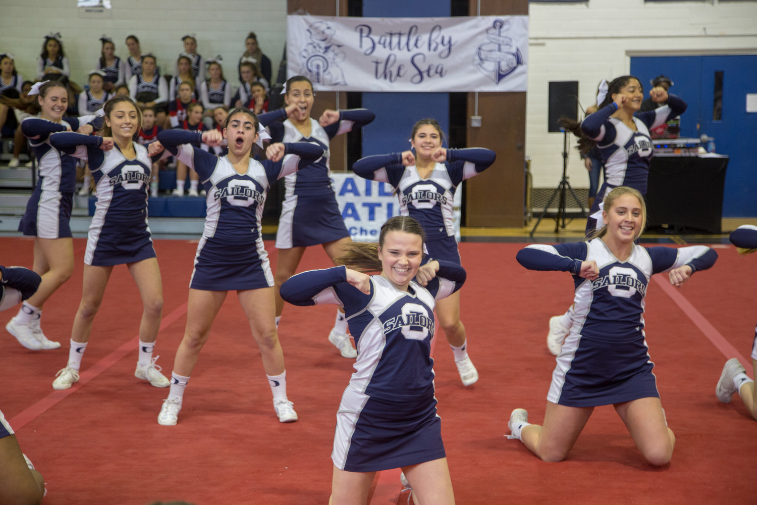The invitational serves both as county competition and a fundraiser for the varsity team's annual trip to nationals at Disney World, according to varsity Coach Samantha Chaback.