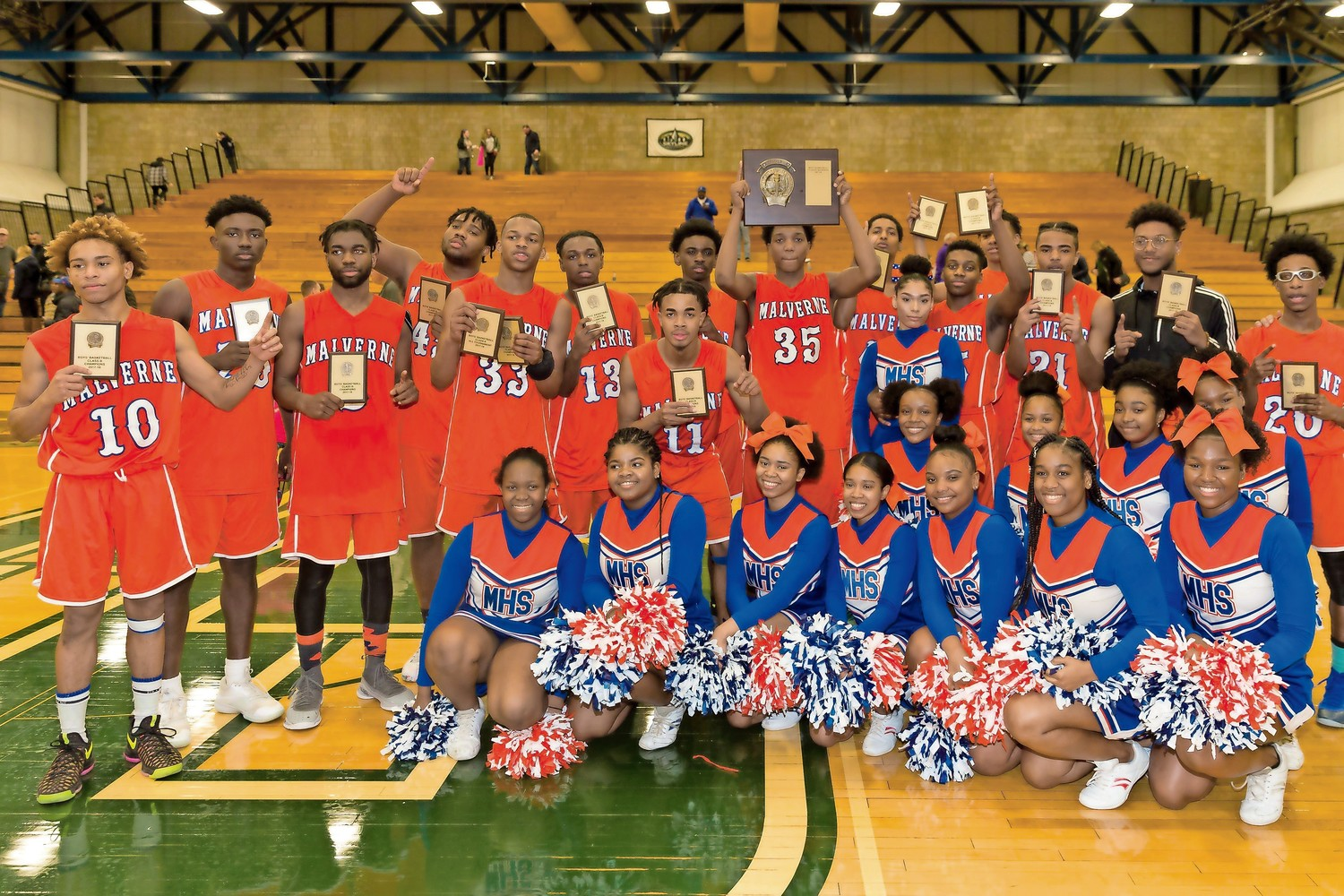 he Mules won their first Class B title since 2011. Malverne will play for the L.I. title against Center Moriches at Suffolk Community College in Brentwood on March 6, at 5 p.m.