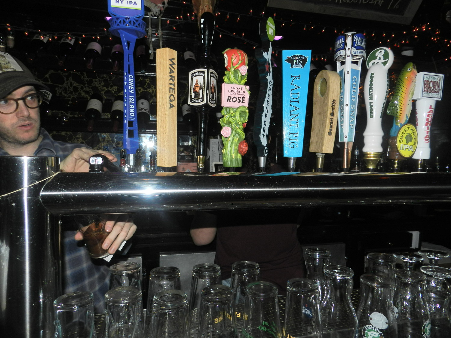 Still Partners had plenty of brew to choose from at 'Crawl for a Cause' on Friday.