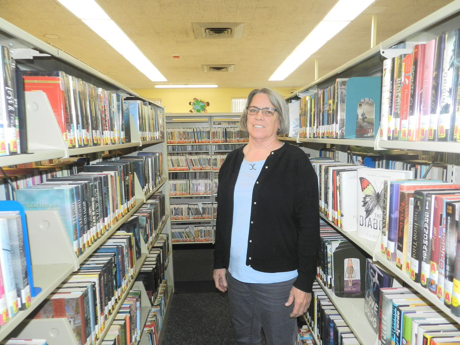 Kathie Flynn has been the director of the Glen Cove Library for six years. Before that, she worked for Barnes and Noble for 20 years, and recalls her fascination with the Carle Place location and its inviting setting.