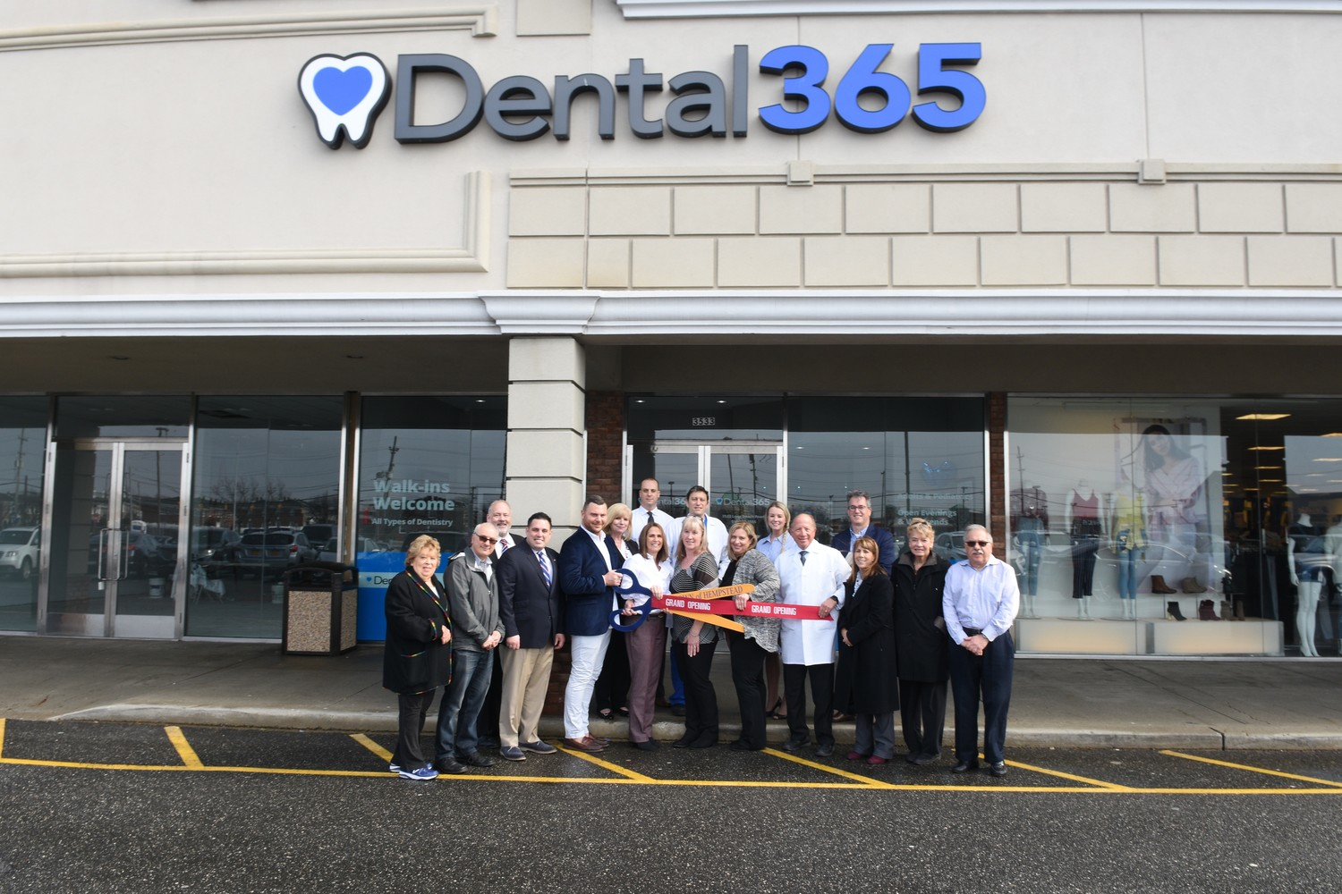 Local officials and the Oceanside Chamber of Commerce celebrated the opening of a Dental365 practice in Oceanside on Feb. 20. It brings the dental office chain's Long Island presence up to 12 locations.