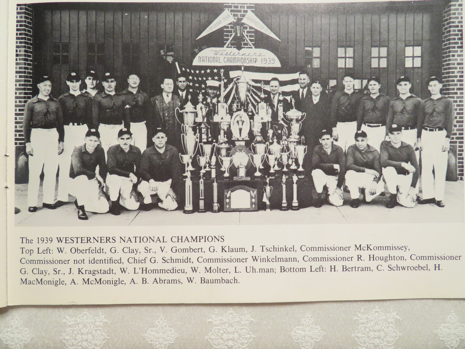 West Hempstead Fire Department's Westerners — who competed in numerous skills competitions — won the National Championship at 1939 World's Fair in New York City.