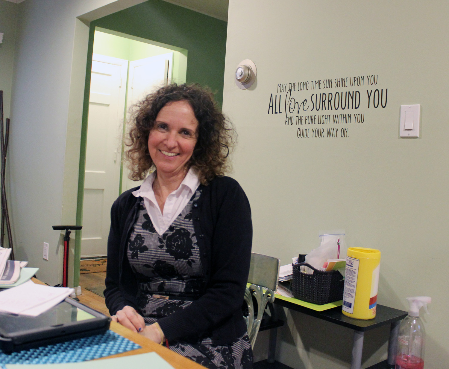 "Jodi DeSantis-Helming, 46, of East Meadow, published her second book, ""The Life You Have Ordered is Currently Out of Stock,"" in February."