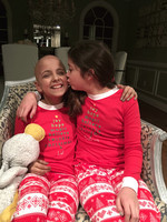 Olivia with her twin sister, Sabrina, who was the donor for a bone marrow transplant for Olivia, who died on Easter Sunday.
