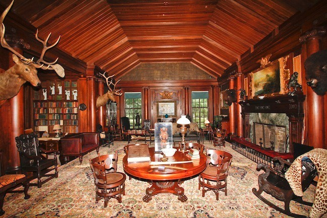 The end product is a beautifully restored room, a true shrine to Teddy Roosevelt and his family.