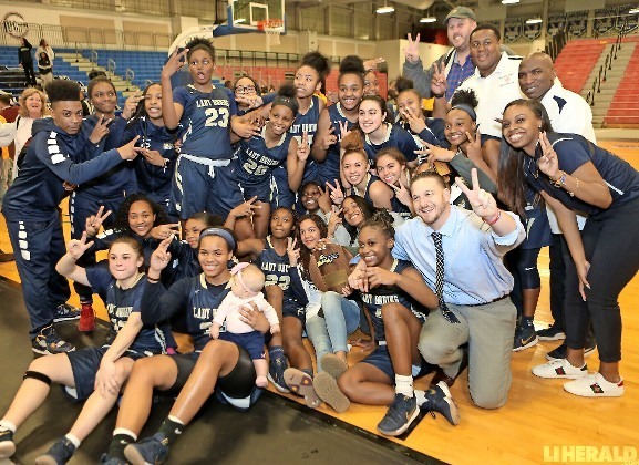 The Lady Bruins built a 22-point lead after the opening quarter and cruised to a 78-48 win over Commack in the Long Island Class AA title game March 8 at Suffolk CC in Brentwood.
